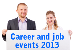 Career and job events Denmark 2013